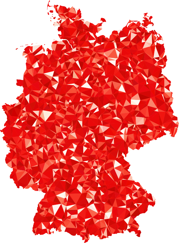 Ruby Germany Map