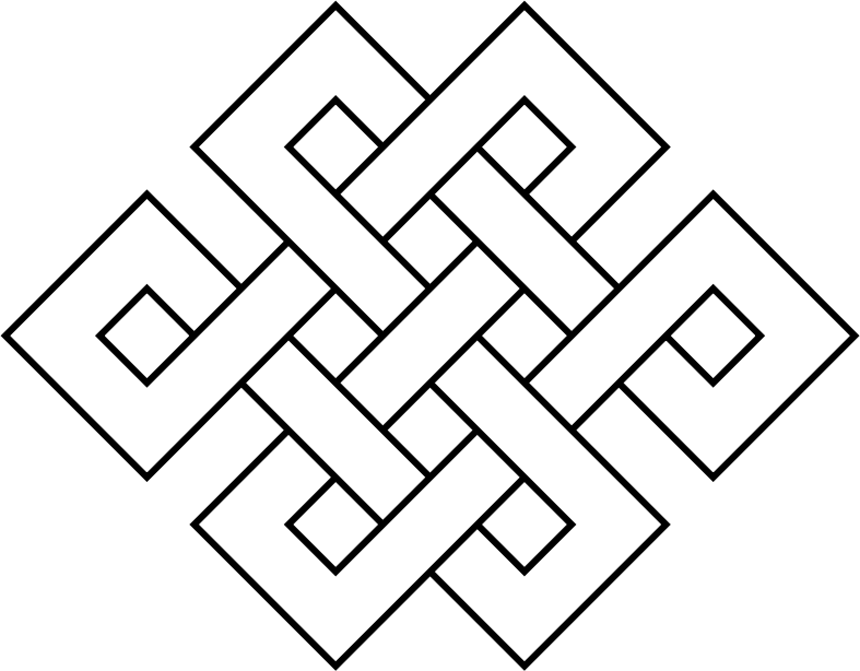 Coloring Page Endless Knot