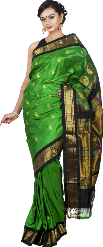 Woman in saree