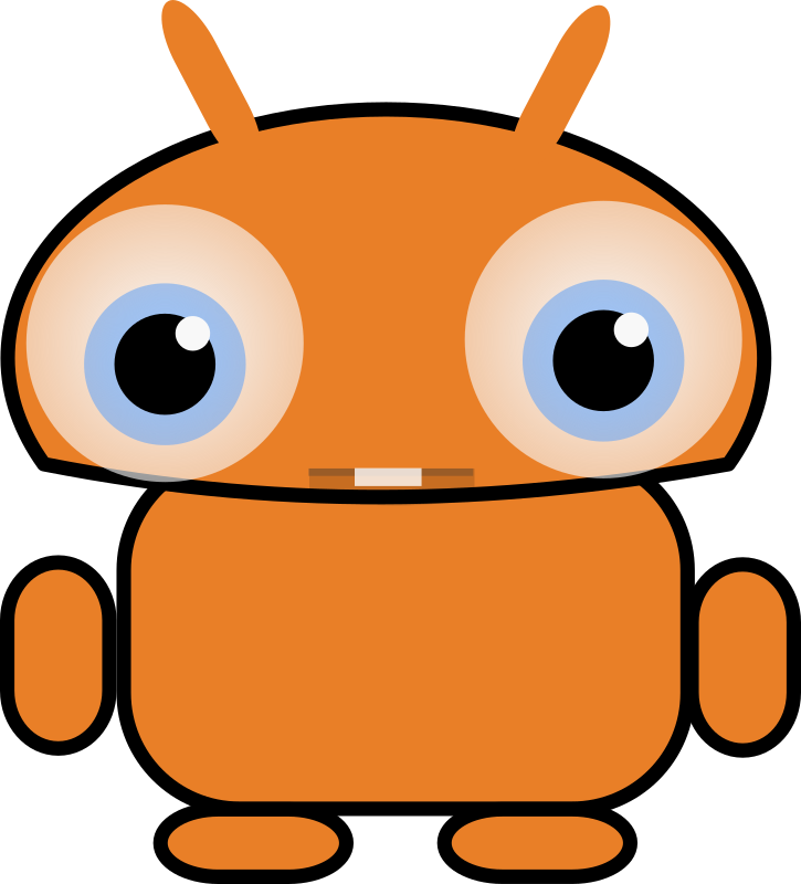 Orange droid