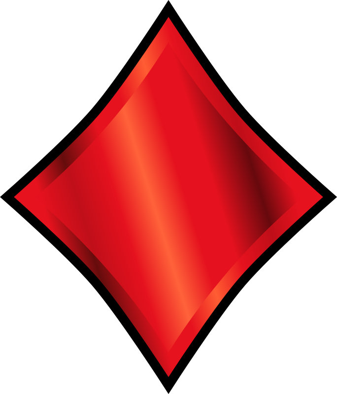 Diamond suit symbol
