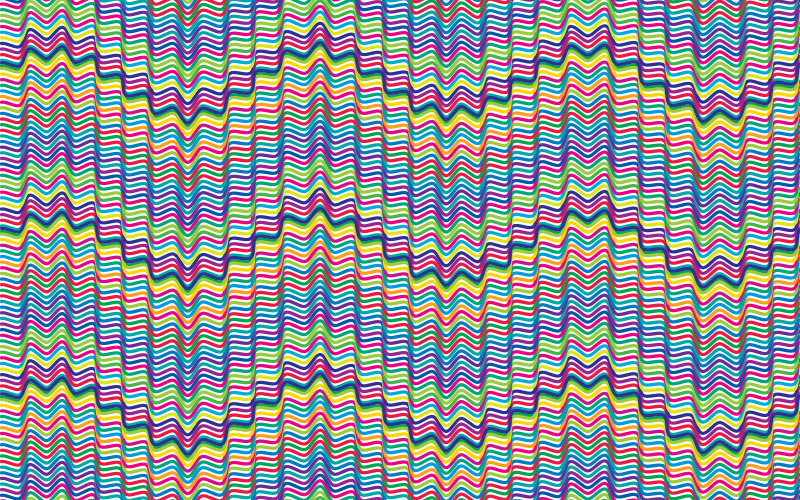Prismatic Waves Background 2 No Background