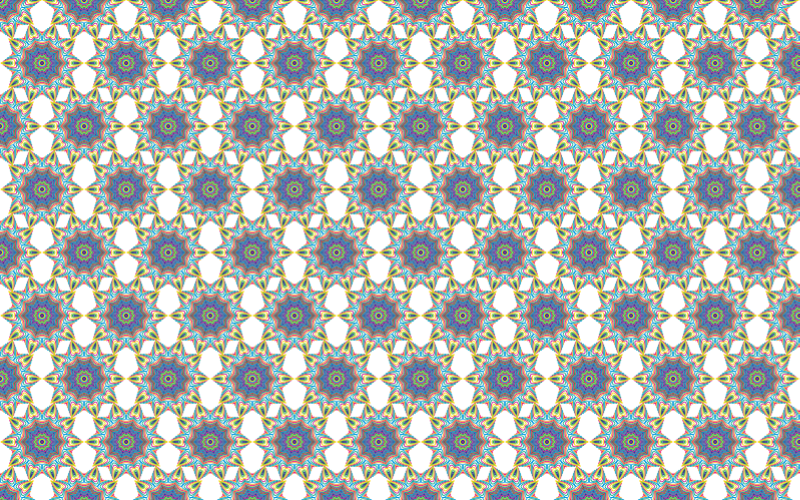 Seamless Prismatic Waves Pattern