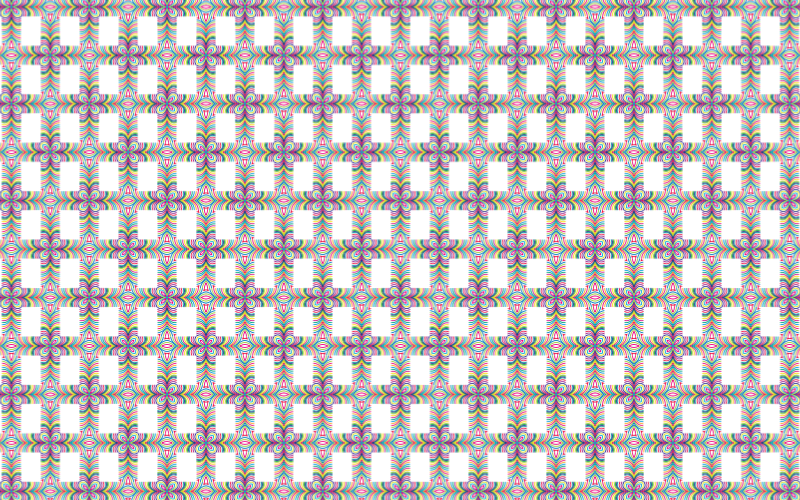 Seamless Prismatic Waves Pattern 3