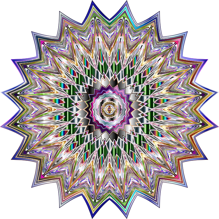 Chromatic Mandala 2 No Background