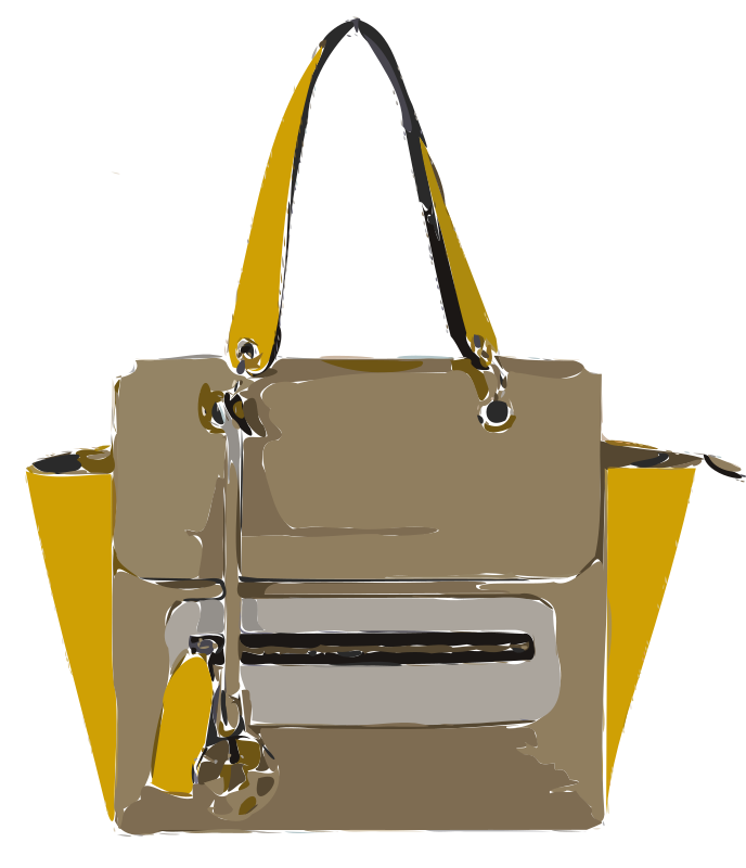 Funky Tan Yellow Bag without Logo