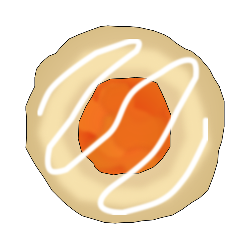 Apricot Thumbprint Cookie