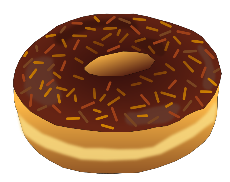 Brown Donut 2