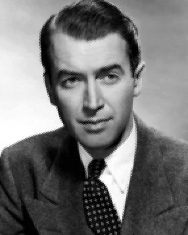 James Stewart Mosaic Portrait 2