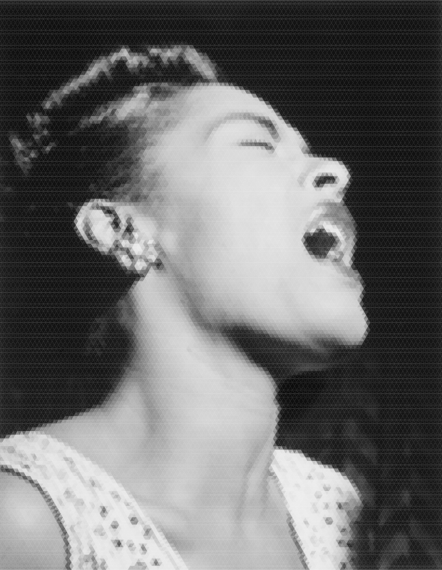 Billie Holiday Mosaic