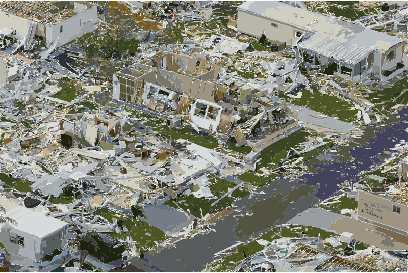 Effects of Hurricane Charley from FEMA Photo Library 7