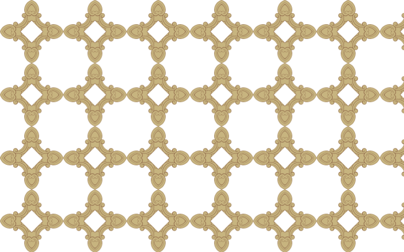 Seamless Ornate Frame 24 Derived Pattern 3