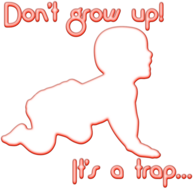 Grow-up trap for girls