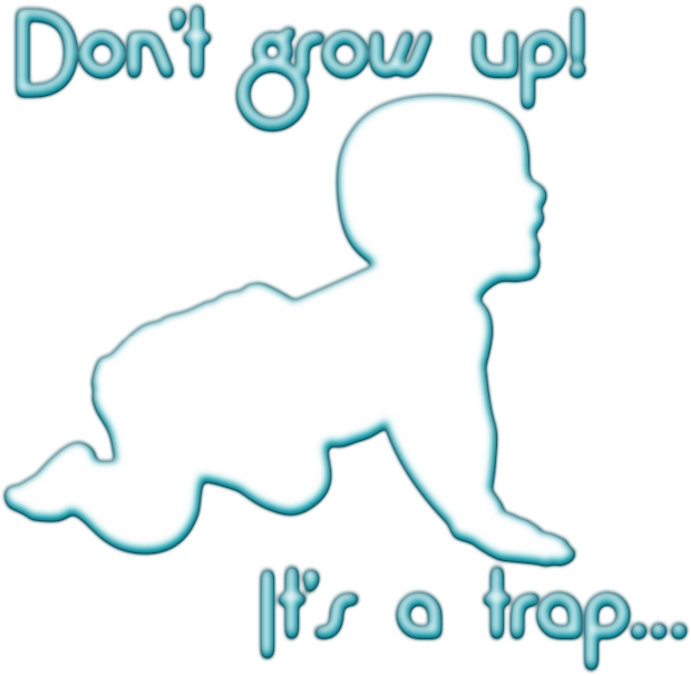 Grow-up trap for boys