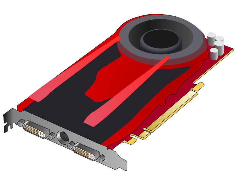 Single slot gaming video card