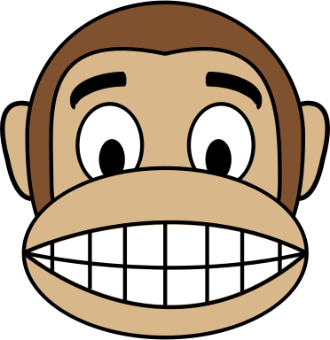 Monkey Emoji - Happy