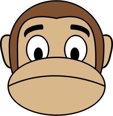 Monkey Emoji - Sad