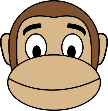 Monkey Emoji - Smile
