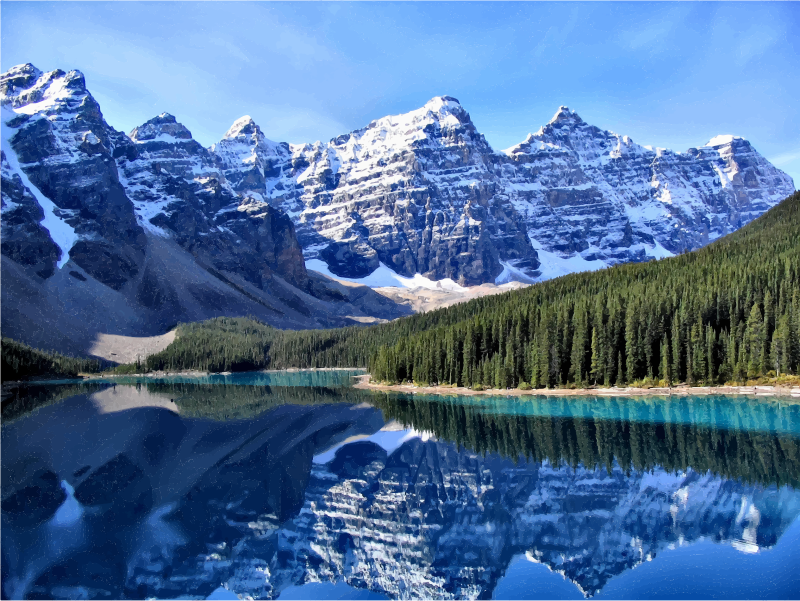 Canadian Rockies Moraine Lake