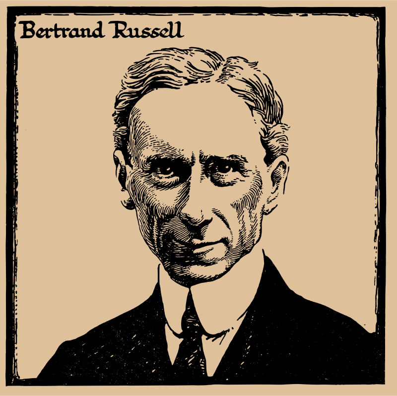 Bertrand Russell in 1917