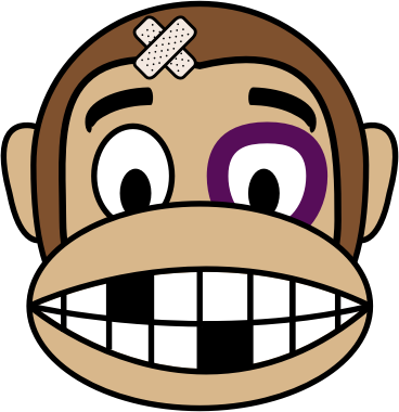 Monkey Emoji - Fighter