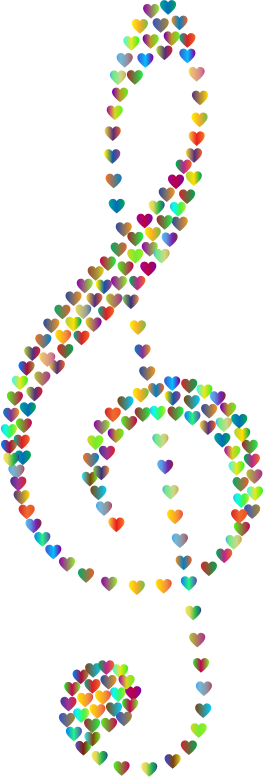 Prismatic Clef Hearts 3 No Background