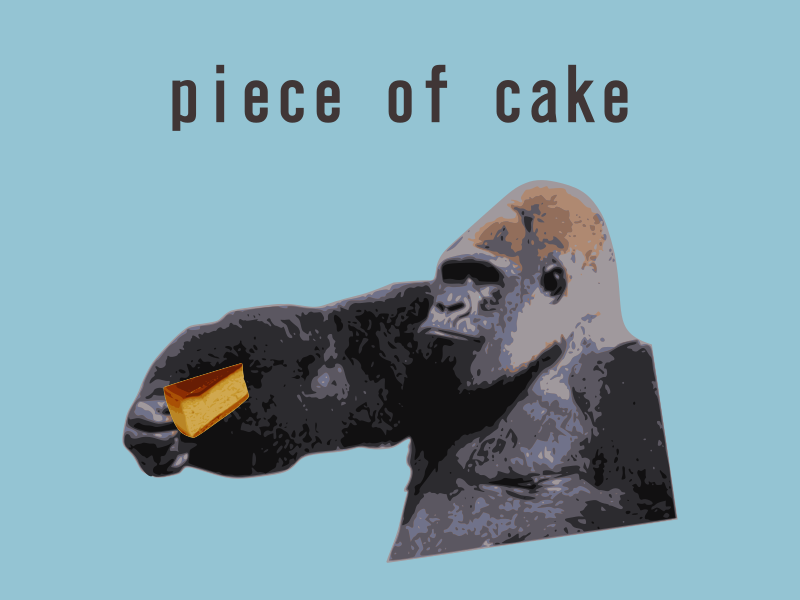 piece of cake-English idiom