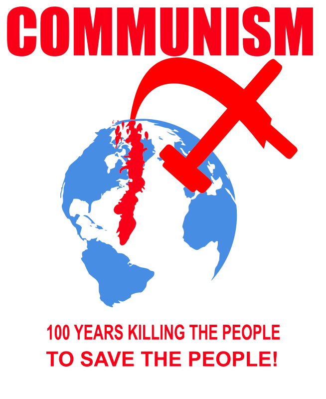 100 years killing the people, to save the people!