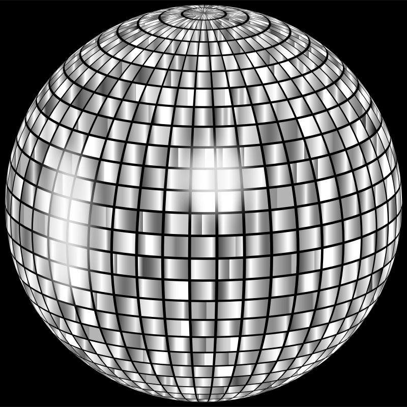 Glimmering Disco Ball Enhanced 2