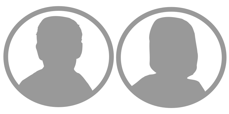men and women profile image grey