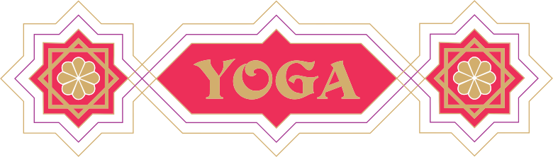 Geometric Yoga Sign
