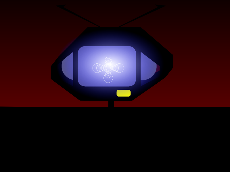 A011: A danger TV is turned on! (Animation)