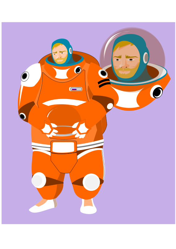 Final version of cosmonaut