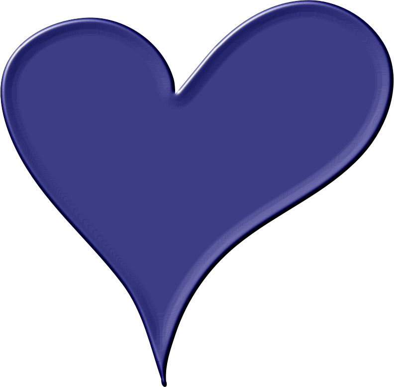 Heart in Blue