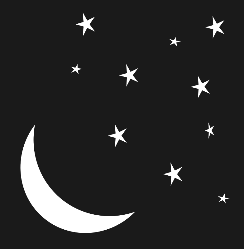 Crescent Moon & Night Stars (Remix)