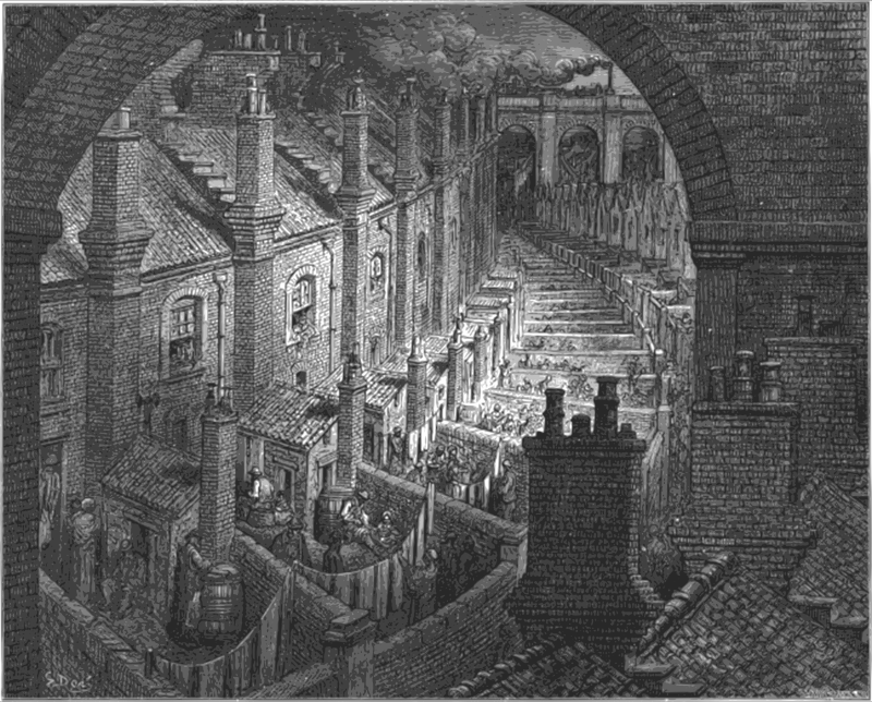 Over London by Rail, by Gustave Doré