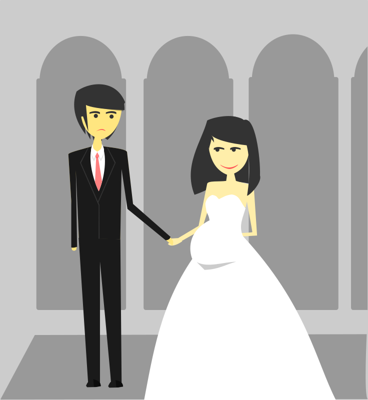 Remix Happy Wedding illustration