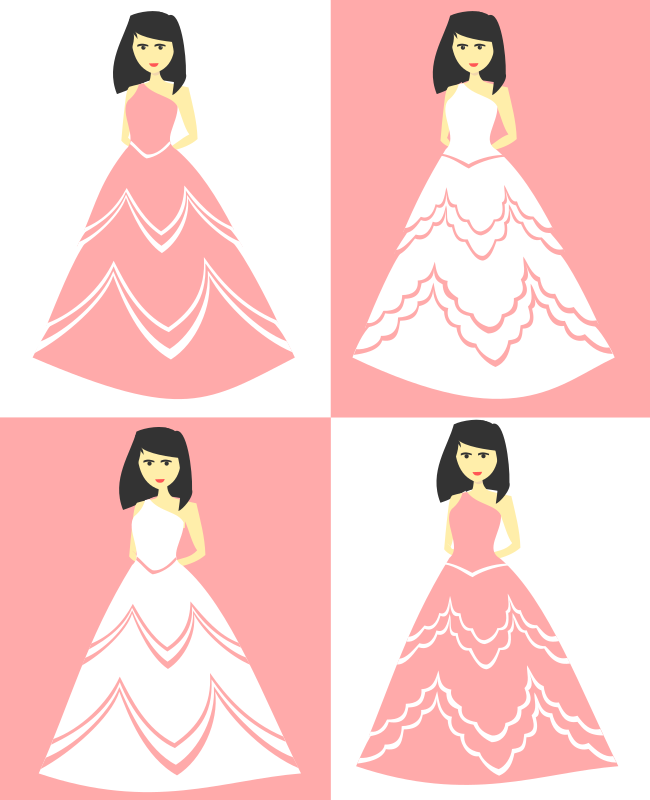 Party Dress and Wedding Gown