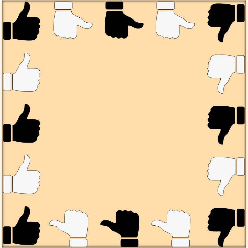 Thumbs-Up Frame