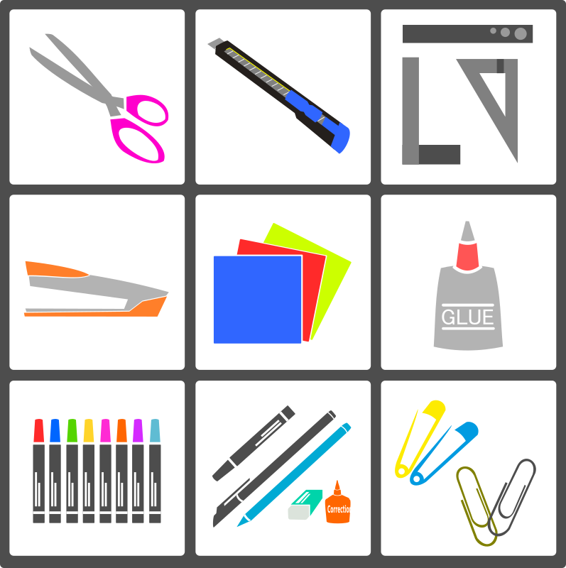 Handy Craft Tools Vector Pack