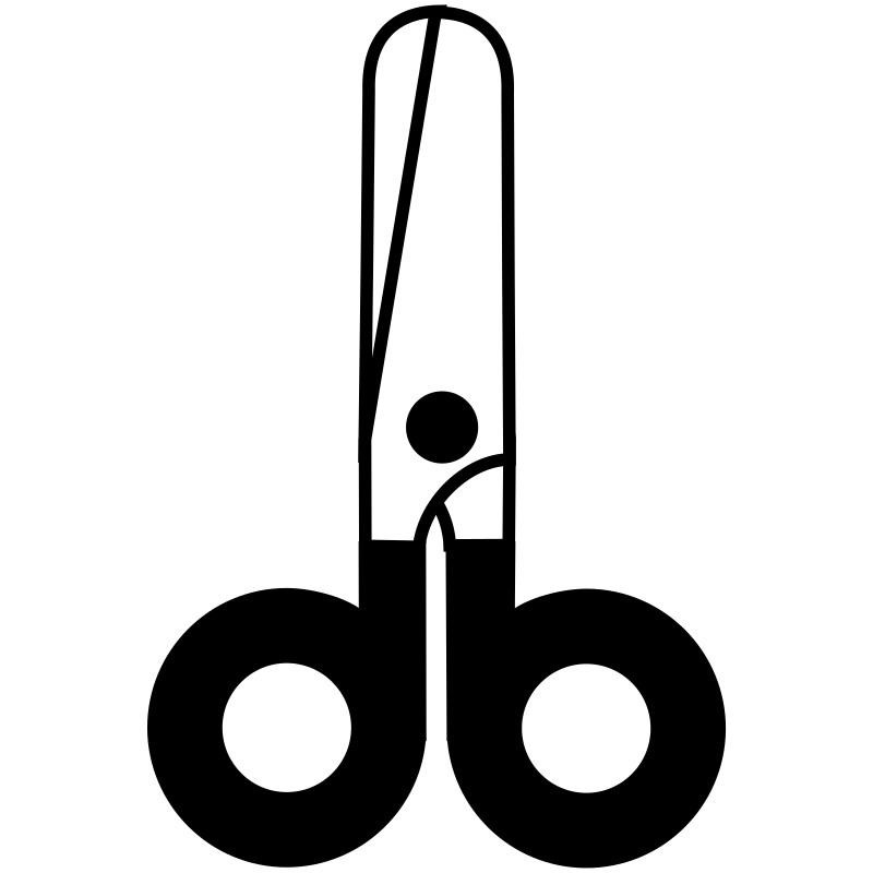scissors closed icon