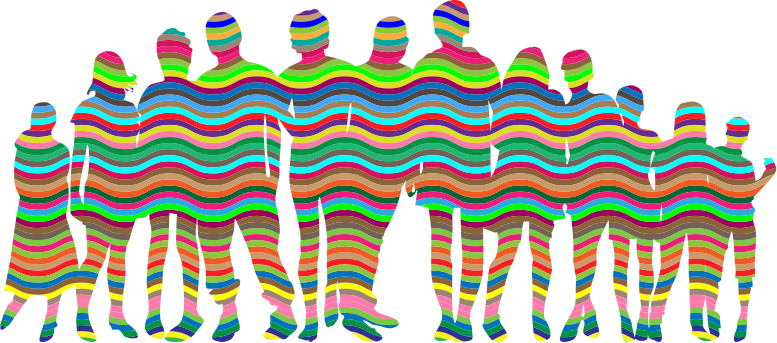 Prismatic Waves Human Family