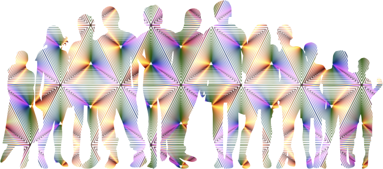 Prismatic Human Family No Background