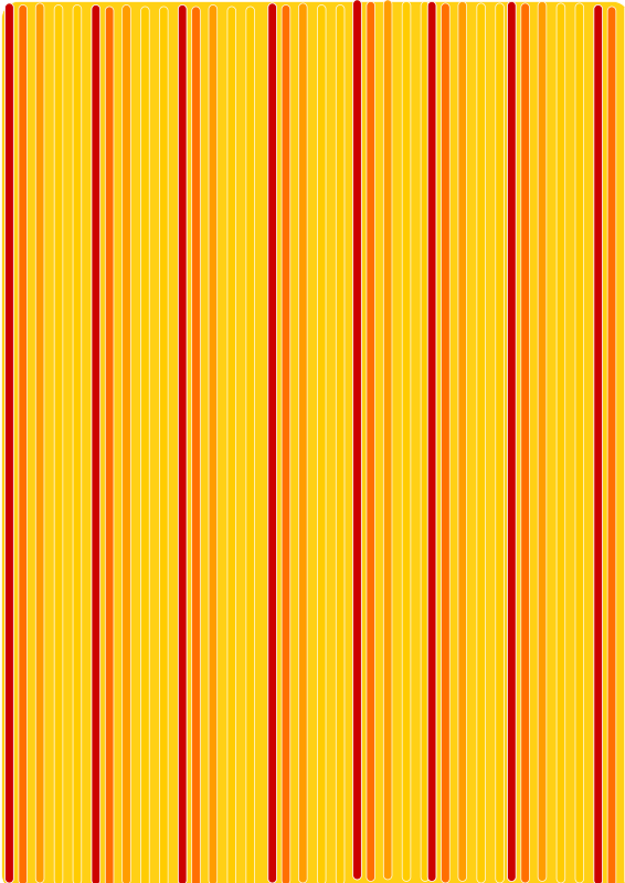 red orange lines back yellow