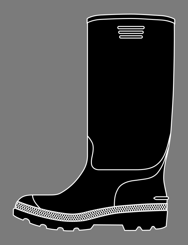 rubber boot 2
