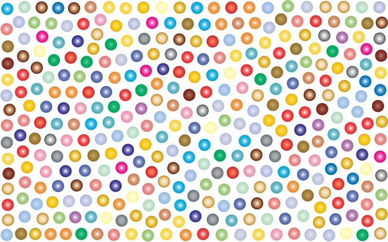 Prismatic Dots Background 2 No Background