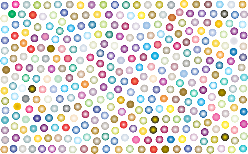 Prismatic Dots Background 3 No Background