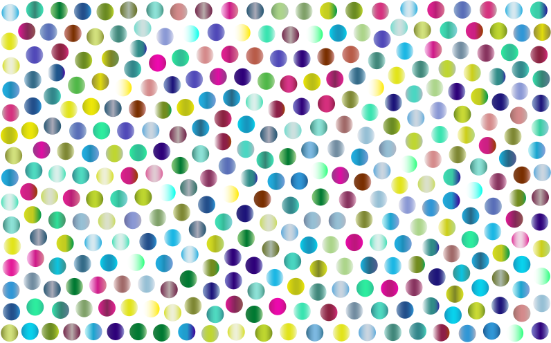 Prismatic Dots Background 4 No Background
