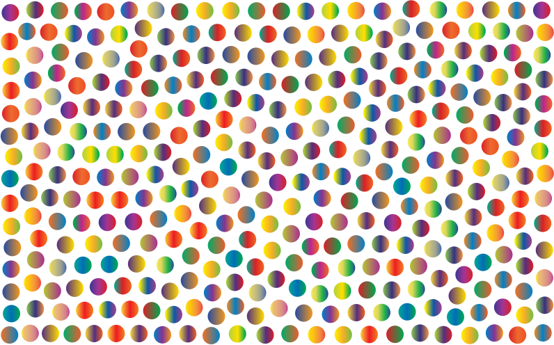 Prismatic Dots Background 5 No Background