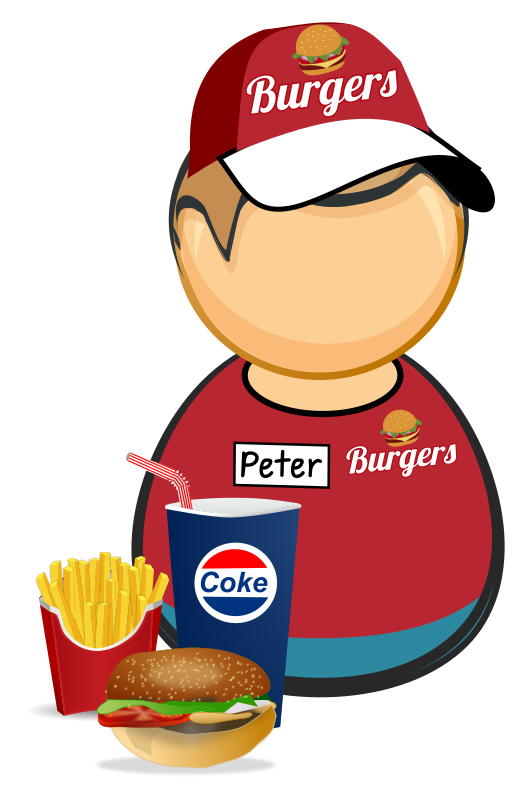 Fastfood worker